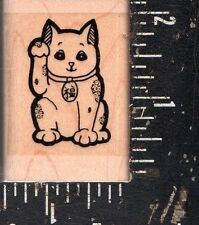 Stamp Oasis Wood Mounted Rubber Stamp Large Cat