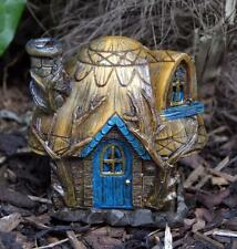 FAIRY HOME / COTTAGE / HOUSE INCENSE BURNER - OR GARDEN DECOR CH_64223 Buttrcup