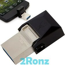 Kingston MicroDuo 3.0 OTG 16GB 16G USB 3.0 Flash Drive Tablet Mobile PC Android