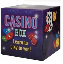 Casino Box: Learn to Play to Win! by Samuel Pinney (2009, Hardcover)