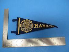 Vintage Hamiliton College Pendant Blue & Gold Hamiltonensis Made In USA S1187