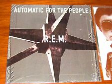 R.E.M. AUTOMATIC FOR THE PEOPLE ORIGINAL LP RECORD IN SHRINK radiohead the cure