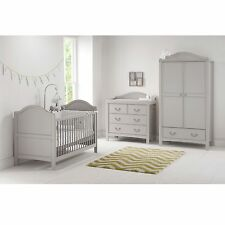 East Coast Nursery Furniture Toulouse 3 Piece Cot Bed/Wardrobe/Dresser Room Set