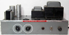 Webster 6L6 Tube Amp Licensed by Western Electric 85-25 Amplifier