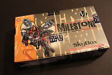 1993 SKYBOX MILESTONE / DC COMIC TRADING CARDS - FACTORY SEALED BOX - 36 PACKS