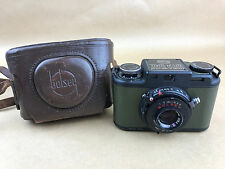 Bolsey Signal Corps U.S. Army CAMERA PH-324A w/ PH-371A Case - Rare & Clean
