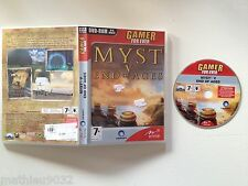 Myst 5 V : End of Ages (Point & Click) PC/Apple MAC FR