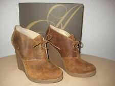 Enzo Angiolini Shoes 10 M Womens New Flory Medium Natural Leather Ankle Boots
