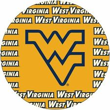 "WEST VIRGINIA 4"" REPEAT DESIGN MANGET-WEST VIRGINIA CAR MAGNET-NEW FOR 2016!"