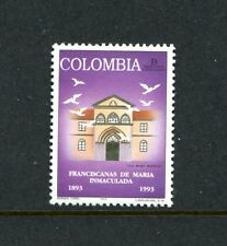 Colombia 1073, MNH, Franciscans on Mary Immaculate 1993. x23421