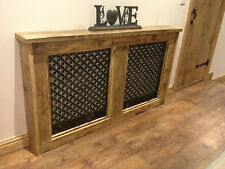 RUSTIC FARMHOUSE RADIATOR COVERS - CAN BE MADE TO ANY SIZE - PLS EMAIL
