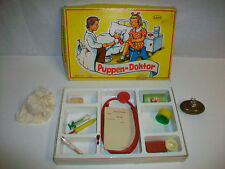 Vintage CAHO PUPPEN-DOKTOR Miniature Toy Doctor Set Kit