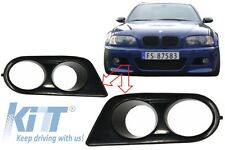 Fog Lamp Lights Covers for BMW E46 M3 look Bumper Sport Design Tuning