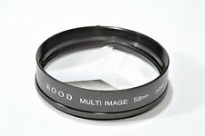 Kood Multi image x3 Filter Made in Japan 58mm