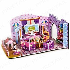 Make Your Own 3D Living Room NO GLUE REQUIRED Children's Craft Activity Game Set
