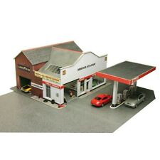 Service station - OO/HO Card kit – Metcalfe PO281 - Free Post