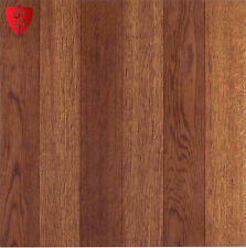 "Vinyl Floor Tile Self-Adhesive 12"" x 12"" Flooring Tiles Peel Stick Medium Oak"