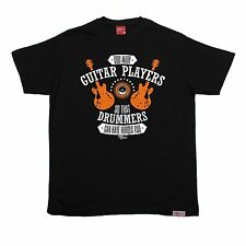 God Guitar Drummers Heroes Too T-SHIRT  Band Rock Metal Fun Funny Gift birthday