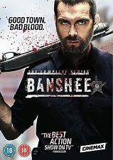 Banshee – The Complete Series (Seasons 1-4) DVD Action Crime Drama NEW