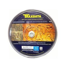 10 TRAXDATA M-DISC 4.7 GB DVD FULL FACE BIANCO STAMPABILE MDISC Archive spindle