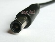 DC tip 7.4X5.0 mm power plug + pin cord for HP / dell laptop adapter cable 28cm