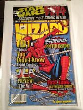 Wizard Magazine # 78 Spiderman Cover