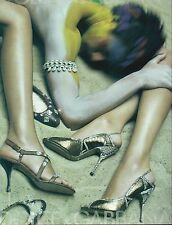 ▬► PUBLICITE ADVERTISING AD DOLCE & GABBANA Chaussures femme mode 2005