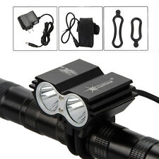 SolarStorm 6000lm 2T6 LED Front Bicycle Bike Light Headlamp Headlight 6400mAh