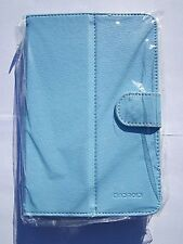 "9.7"" Blue Android Tablet PC PU Leather Carry Case Holder Stand fits Scroll"