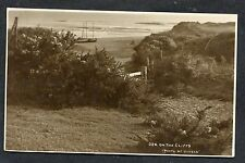 Posted 1924 View of Fishing Boats on the Beach, English Coast
