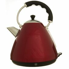 RED PYRAMID TRADITIONAL ELECTRIC CORDLESS JUG KETTLE 1.7L LITRE 2550 - 3000W