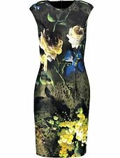 Roberto Cavalli Class Floral Dress UK14 IT46 JUST CAVALLI