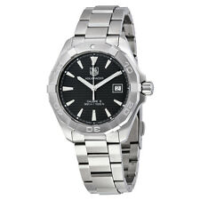 Tag Heuer Aquaracer Automatic Black Dial Stainless Steel Mens Watch