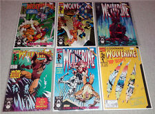 Wolverine 41, 42, 43, 44, 45, 50 set of 6 comics all NM (feat.cable, sabretooth)