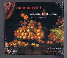 SAMMARTINI CD NEW CONCERTOS FOR ORGAN  LA RISONANZA FABIO BONIZZONI