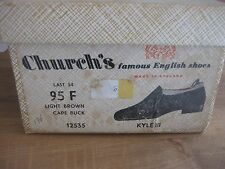 "CHURCH'S  Men's shoes BNIB - Model ""Kyle III"" Size 9.5 UK,* Brand new in box *"