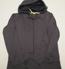 The North Face LANA PULLOVER HOODIE Mock Neck Black A5S7KS7 Womens SIZE LARGE L