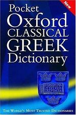 Pocket Oxford Classical Greek Dictionary-ExLibrary
