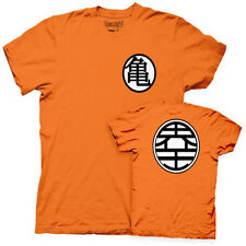 Dragon Ball Z Turtle Hermit and Kame Symbol Orange T-Shirt, NEW UNWORN