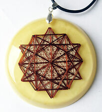 Dodecahedron Tesseract Quantic Resonator Metayantra Pranic Device, ORGONE