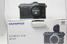 Olympus E-P2 Pen Digital SLR Camera Body. Boxed Excellent.  Free UK Shipping