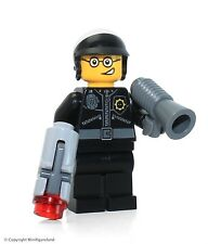 The LEGO Movie MiniFigure - Bad Cop (Open Mouth) Set 70819