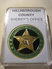 HILLSBOROUGH COUNTY SHERIFF'S OFFICE Commemorative Challenge Coin