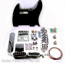 Telecaster Full Guitar hardware kit chrome vintage single coil bridge NEW