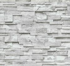 A.S Creation Neue Bude 2.0 Steinmauer Dunkel 36140-4 36207-8 Vlies Tapete