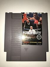 Mike Tyson's Punch Out NES Cartridge Only Tested & Works Nintendo