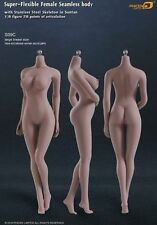 1/6 Phicen seamless tan skin busty female action figure S09C (body only)