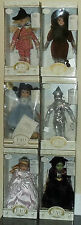 1999 F A O Schwarz 12 inch Wizard of OZ Dolls Bisque Porcelain MIB LE to 4800 pi
