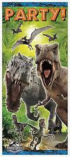 JURASSIC WORLD-PORTA POSTER (Festa di Compleanno GAMMA / Decorazione) (Dinosauri / Park)