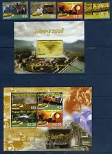 PAPOUASIE PAPUA NG 2008 Gold Mining Mine Or Yv 1243/46 + 2 Bl MNH **